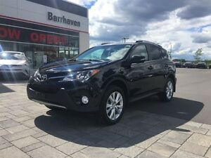 2015 Toyota RAV4 LIMITED - AWD - TECHNOLOGY PKG - NAVIGATION!