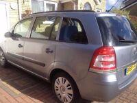 2008 58 reg Vauxhall Zafira 1.9 cdti needs minor work