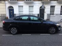 Black ford Mondeo 62 plate 1.6L diesel Auto starter Stereo Bluetooth Air con central Locking.