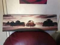 Sepia effect canvas
