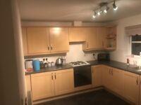 Kitchen for sale: 13 units inc built in fridge & freez, sink, smeg elec oven, g/hob, elec extractor.