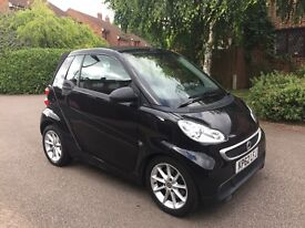 Smart fortwo 1.0 MHD Passion Cabriolet Softouch 2dr