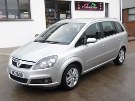 2008 VAUXHALL ZAFRIA 1.8 DESIGN ONE OWNER 68000 MILES MINT !!!!!