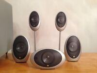 KEF KHT-1005 5.1 home theatre surround sound system