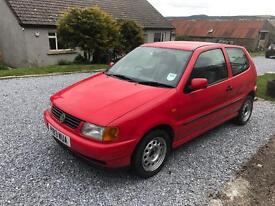 VW Polo 3Dr diesel 1.9 with 6 months mot.