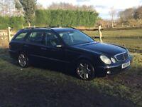 2004 E270 CDI AUTO ESTATE, SPARES OR REPAIR £1050