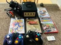 GameCube with 4 GREAT GAMES