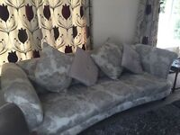 Large DFS four seater sofa