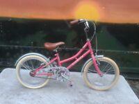 Elswick Harmony Factory Soiled Bike 18 inch wheels Girls Bike