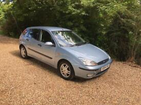 FORD FOCUS ZETEC NEW MOT (blue) 2004