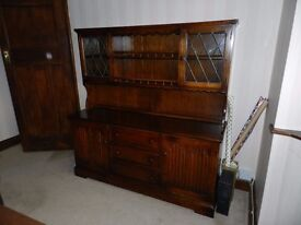 Oak dresser/sideboard for dining room or kitchen