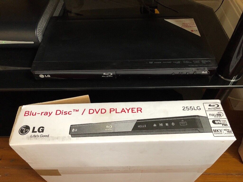 LG blu-ray and DVD player with USB port. Excellent condition. Collection only