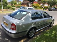 SKODA OCTAVIA 1.6 5 DOOR HATCHBACK ONLY 77,000 MILES BEUTIFULL CONDITION INDIDE OUT METALIC SILVER
