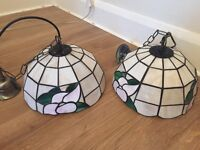 Stained Glass Ceiling Pendants