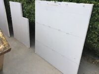 Insulated plaster board