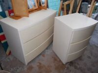 chest of drawers,one large one smaller by ALSTONS