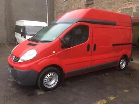 Renault traffic dci , only 30000 miles from new