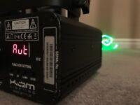 KAM iLink Green Laser (# professional laser light for DJ, band, disco use)