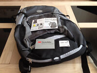 New Crivit Showerproof Bicycle Backpack (One Size)