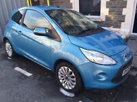 Ford Ka Zetec 2009 blue