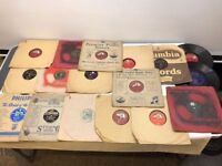 Job lot 17 x old 78rpm records grand orchestra various regimental winifred