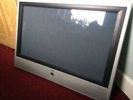 Loewe 42inch Plasma TV, DVD Player, Speakers & TV Stand