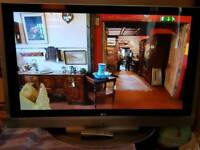 Lg 50inch hd tv 2hdmi freeview & remote