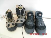 Men's Working Boots 2 Pairs of Boots (Coleman&Dickies) Black & Brown Size UK 12 Excellent Condition