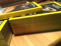 National Geographic 2005 , 2006 and first 3 months 2007 all in mint condition