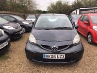 TOYOTA AYGO 1.0 VVT-i SPORT HATCH 5DR 2006*IDEAL FIRST CAR*CHEAP INSURANCE*ONLY £20 ROAD TAX A YEAR