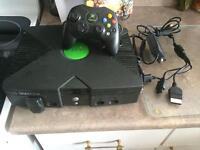 Xbox original + 7 jeux