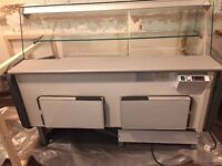 Over the counter display chiller in great condition collection only
