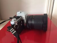 Pentax ME Super Film Camera With Makinon Zoom Lens and case
