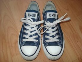 Converse All Star Low Navy Canvas SIZE 5