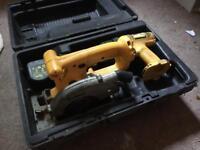 Dewalt cordless circular saw and drill driver combo