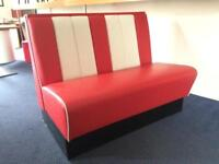 American diner kitchen bench seat 1200mm wide LAST 1!!!