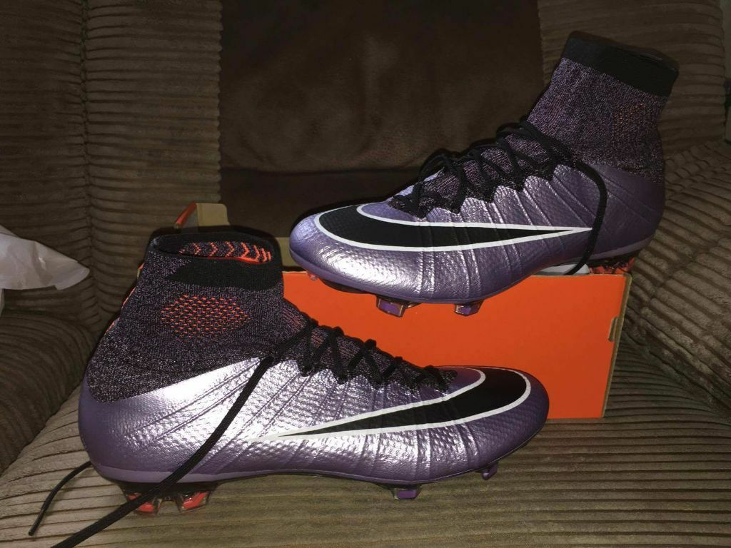 Nike Mercurial Superfly Fg Sock Boots Size 9 5 Urban