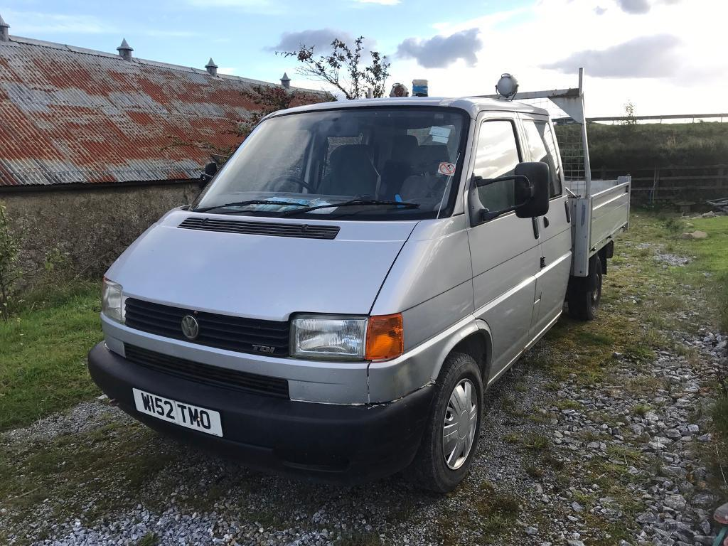 2000 vw t4 syncro 4x4 crew cab with tipper back in huntly aberdeenshire gumtree. Black Bedroom Furniture Sets. Home Design Ideas