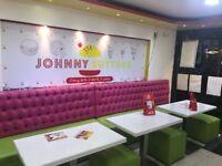 Fast Food Takeaway Business For Sale - 5 Room Flats Upstairs - Huge Footfall - Wilmslow Road