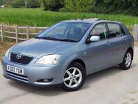 55k!! Toyota Corolla 1.6 Petrol T Spirit-FSH-1yr MOT-HPI clear-Mint