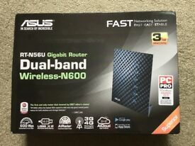 ASUS RT-N56U 450/300 Mbps N600 Gigabit Wireless N Router