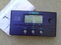 Yamaha electronic tuner