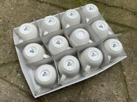 12 Ikea ceramic mugs cups rrp £2.75 each