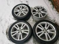 Audi vw alloy wheels 17 inch