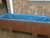 Garden planter/vegetable bed