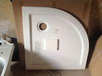 NEW 800x800 quadrant shower tray