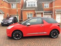 2013 CITROEN DS3 1.6 HDI DSTYLE PLUS, MOT 12 MONTHS, £0 TAX, FULL HISTORY