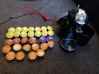 Nescafe Dolce Gusto with coffee pods