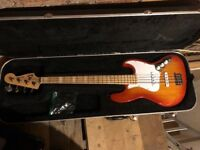 Fender Made in Japan Jazz Bass with Hard Case