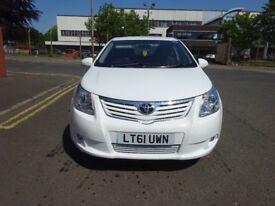2011 TOYOTA AVENSIS DIESEL, 1 OWNER, EX TAXI, DRIVE SPOT ON